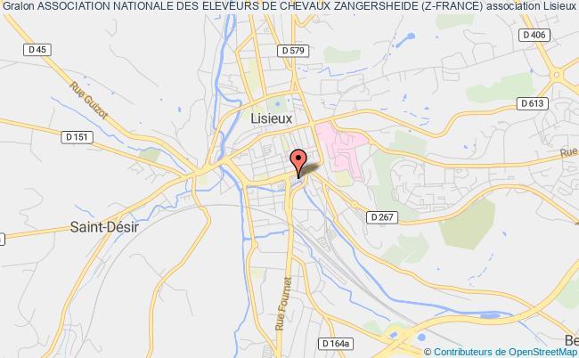 plan association Association Nationale Des Eleveurs De Chevaux Zangersheide (z-france)