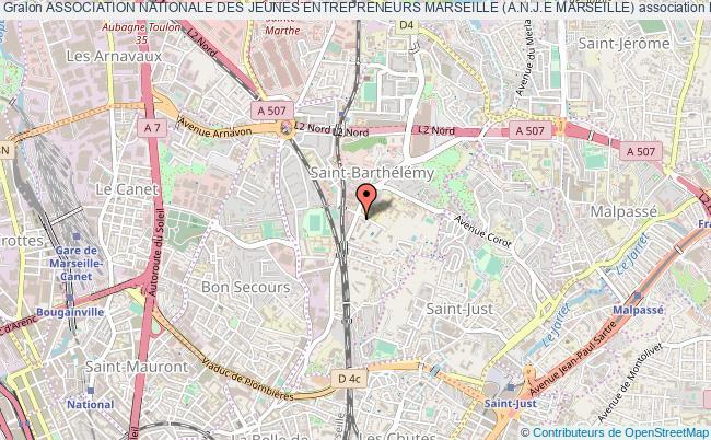 plan association Association Nationale Des Jeunes Entrepreneurs Marseille (a.n.j.e Marseille) Marseille