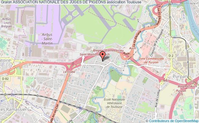 plan association Association Nationale Des Juges De Pigeons