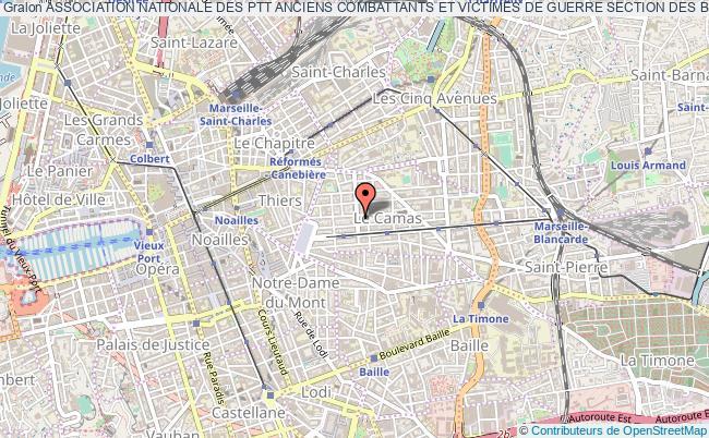 plan association Association Nationale Des Ptt Anciens Combattants Et Victimes De Guerre Section Des Bouches Du Rhone