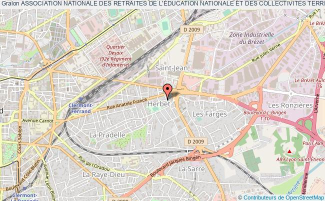 plan association Association Nationale Des Retraites De L'Éducation Nationale Et Des CollectivitÉs Territoriales (anrenct)