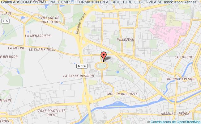 plan association Association Nationale Emploi Formation En Agriculture Ille-et-vilaine