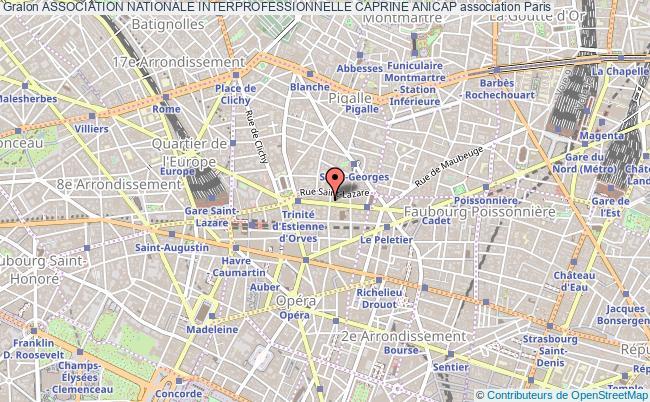 plan association Association Nationale Interprofessionnelle Caprine Anicap
