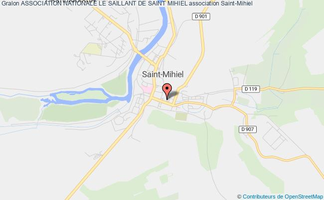 plan association Association Nationale Le Saillant De Saint Mihiel