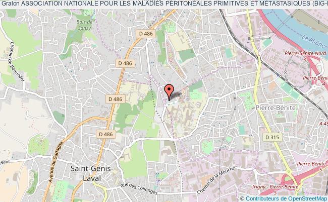 plan association Association Nationale Pour Les Maladies PÉritonÉales Primitives Et MÉtastasiques (big-renape) Pierre-Bénite
