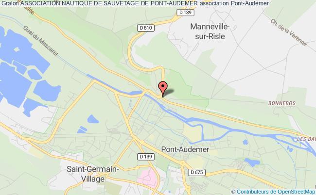 plan association Association Nautique De Sauvetage De Pont-audemer