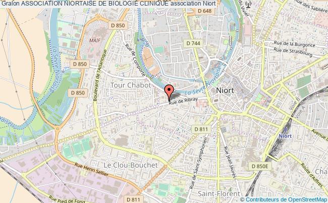 plan association Association Niortaise De Biologie Clinique