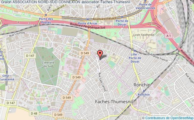 plan association Association Nord-sud Connexion