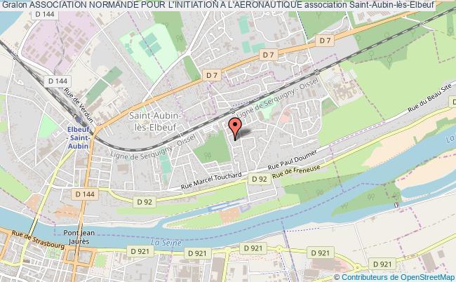 plan association Association Normande Pour L'initiation A L'aeronautique