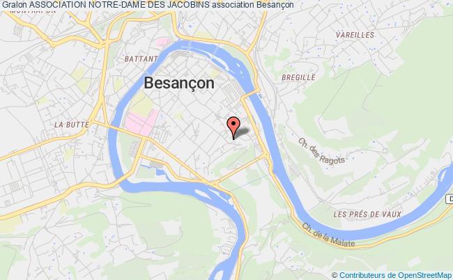 plan association Association Notre-dame Des Jacobins