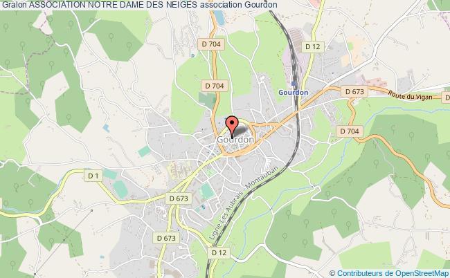 plan association Association Notre Dame Des Neiges