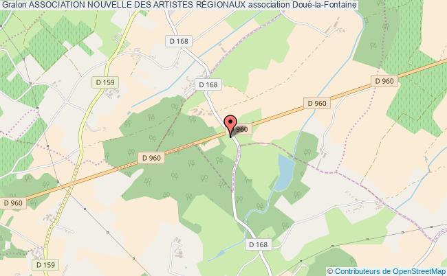 plan association Association Nouvelle Des Artistes RÉgionaux Doué-en-Anjou