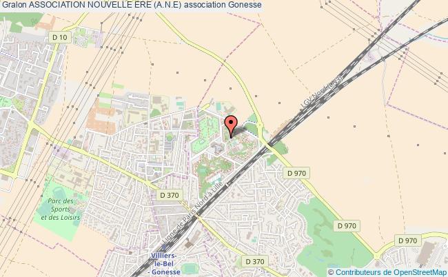plan association Association Nouvelle Ere (a.n.e) Gonesse