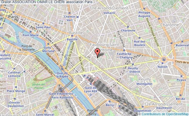 plan association Association Omar Le Cheri Paris