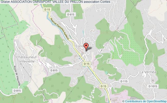 plan association Association Omnisport Vallee Du Paillon Contes