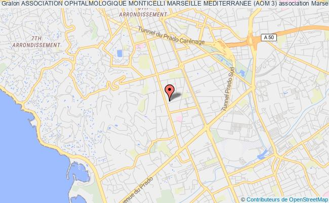 plan association Association Ophtalmologique Monticelli Marseille Mediterranee (aom 3)