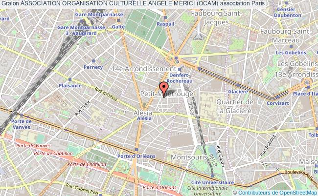 plan association Association Organisation Culturelle AngÈle Merici (ocam)