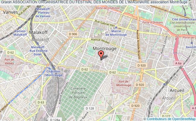 plan association Association Organisatrice Du Festival Des Mondes De L'imaginaire Montrouge