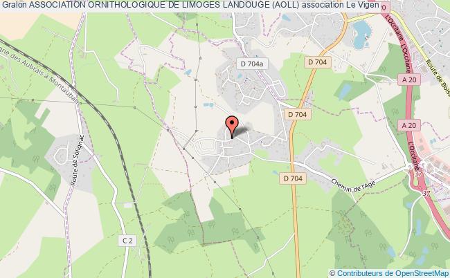 plan association Association Ornithologique De Limoges Landouge (aoll)