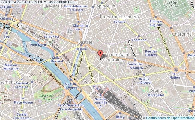 plan association Association Ouat Paris 12e