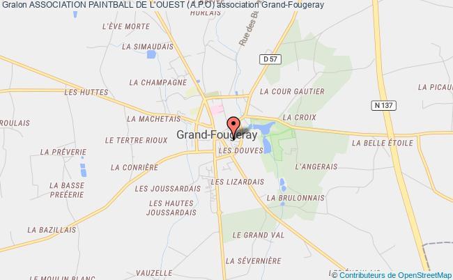 plan association Association Paintball De L'ouest (a.p.o) Grand-Fougeray