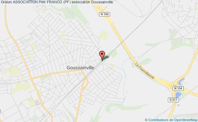 plan association Association Pak Franco (pf) Goussainville