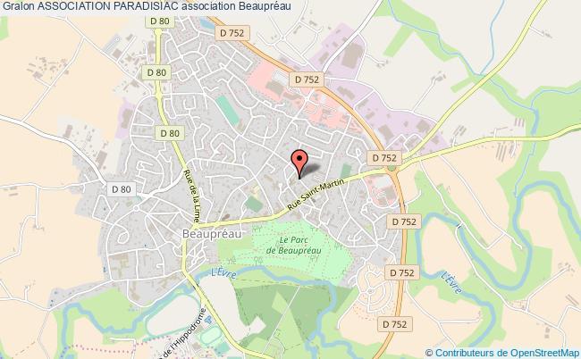 plan association Association Paradisiac