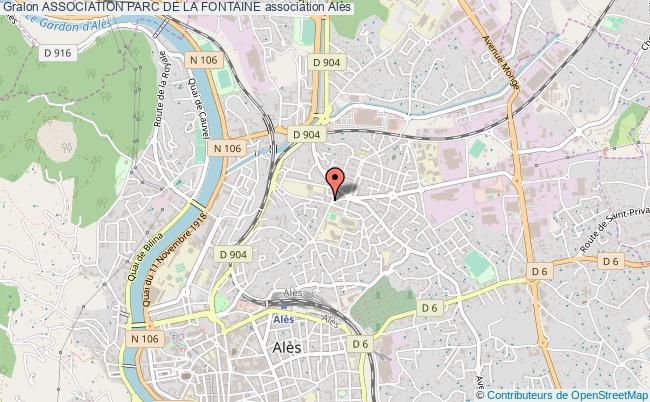 plan association Association Parc De La Fontaine