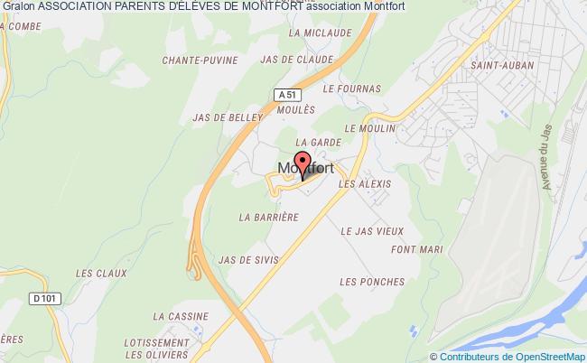 plan association Association Parents D'ÉlÈves De Montfort