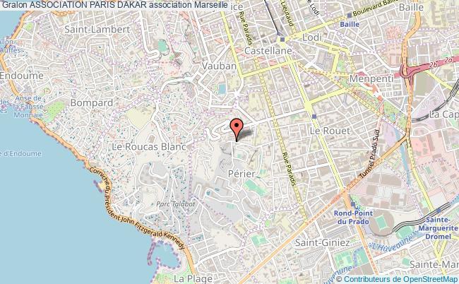 plan association Association Paris Dakar