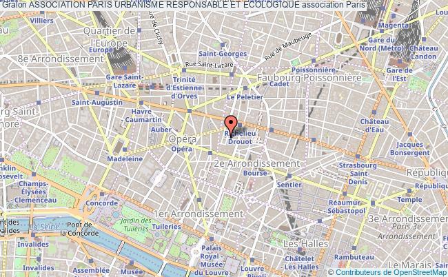 plan association Association Paris Urbanisme Responsable Et Ecologique
