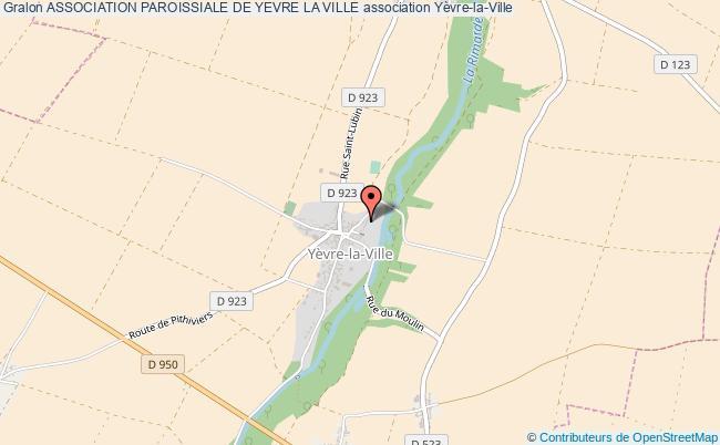 plan association Association Paroissiale De Yevre La Ville