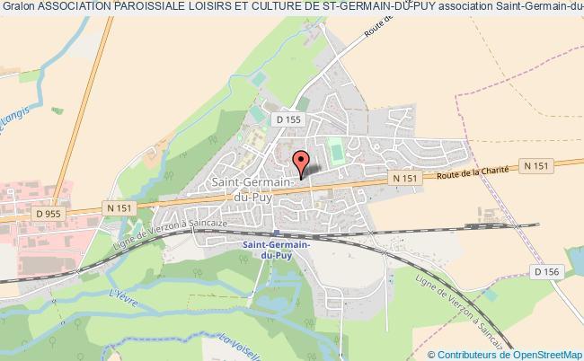 plan association Association Paroissiale Loisirs Et Culture De St-germain-du-puy