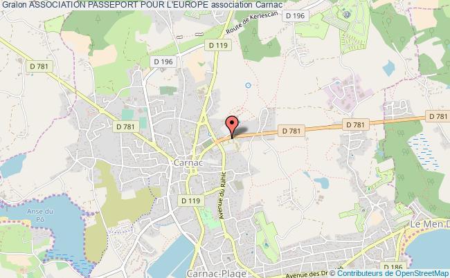 plan association Association Passeport Pour L'europe