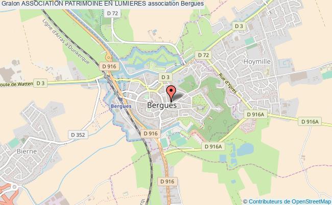 plan association Association Patrimoine En Lumieres
