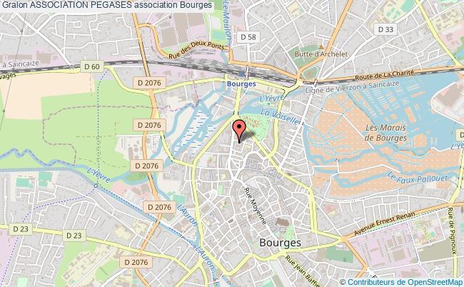 plan association Association Pegases Bourges