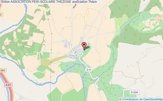 plan association Association Peri-scolaire Thezoise