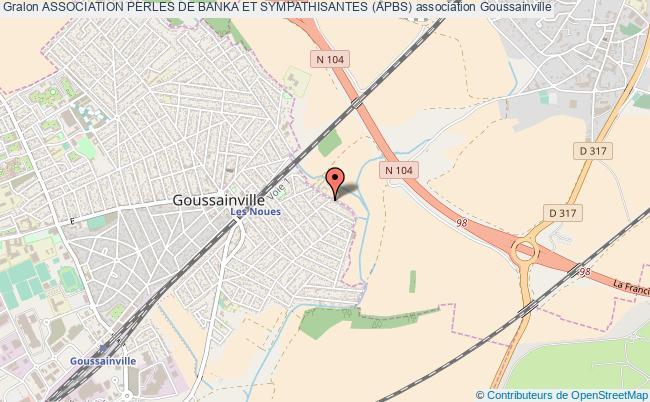 plan association Association Perles De Banka Et Sympathisantes (apbs) Goussainville