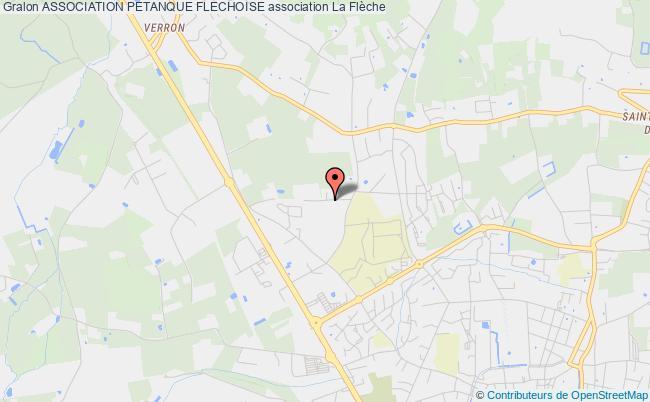 plan association Association Petanque Flechoise
