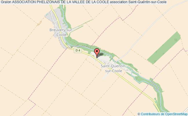 plan association Association Phelizonais De La Vallee De La Coole