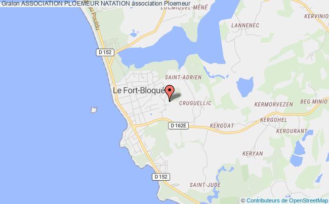 plan association Association Ploemeur Natation