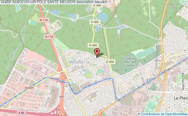 plan association Association Pole Sante Meudon