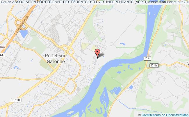 plan association Association Portesienne Des Parents D'eleves Independants (appei)