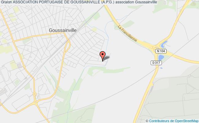 plan association Association Portugaise De Goussainville (a.p.g.) Goussainville