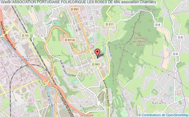 plan association Association Portugaise Folklorique Les Roses De Mai