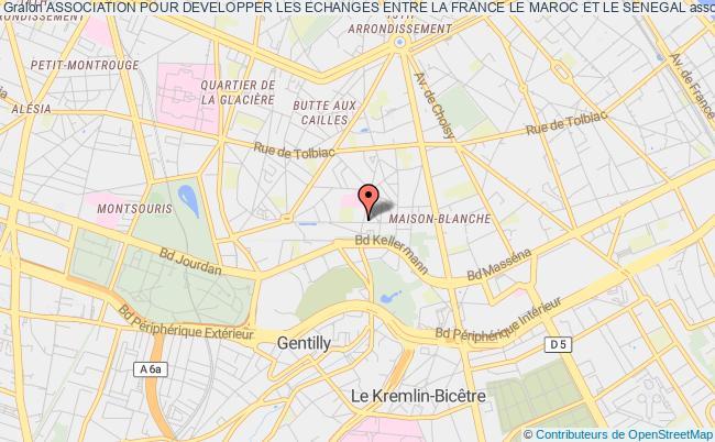 plan association Association Pour Developper Les Echanges Entre La France Le Maroc Et Le Senegal