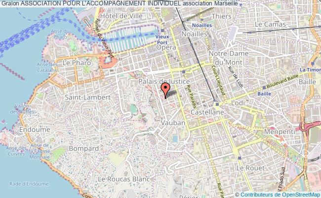 plan association Association Pour L'accompagnement Individuel Marseille