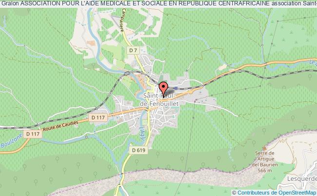 plan association Association Pour L'aide Medicale Et Sociale En Republique Centrafricaine