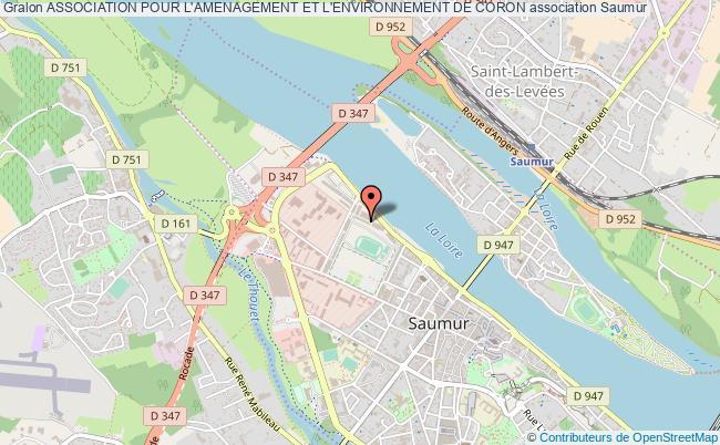 plan association Association Pour L'amenagement Et L'environnement De Coron