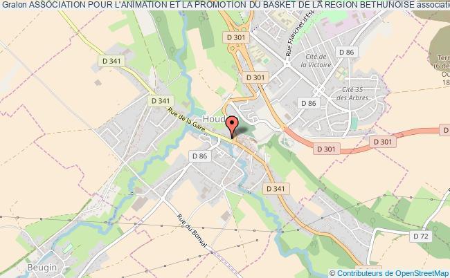 plan association Association Pour L'animation Et La Promotion Du Basket De La Region Bethunoise